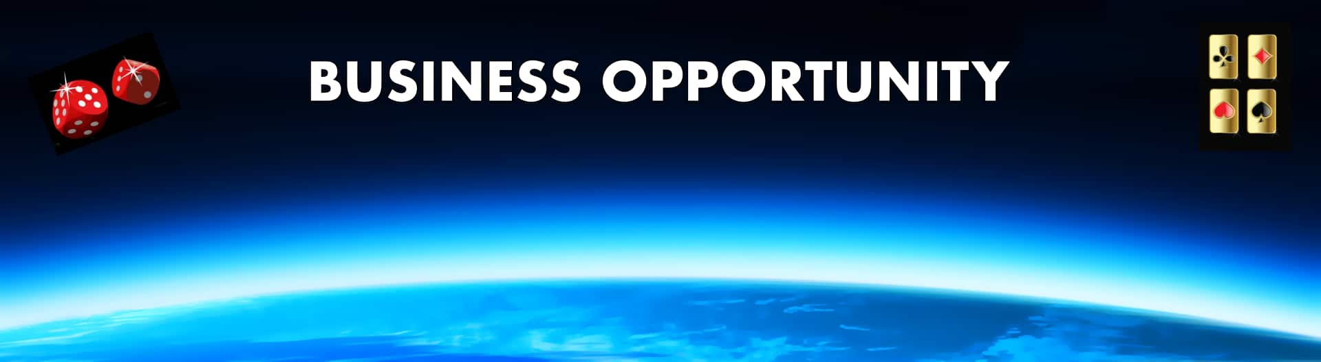 Online business opportunity banner