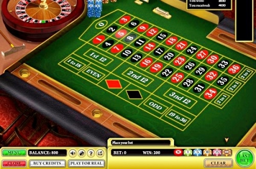 European roulette online casino software