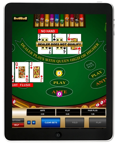 iPad poker software