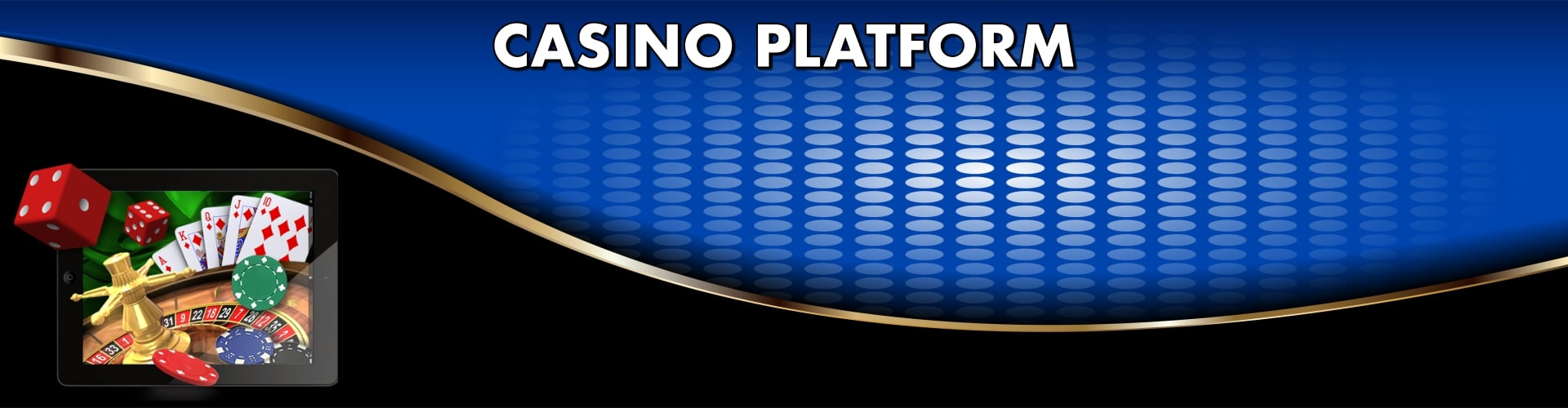 online casino software platform banner