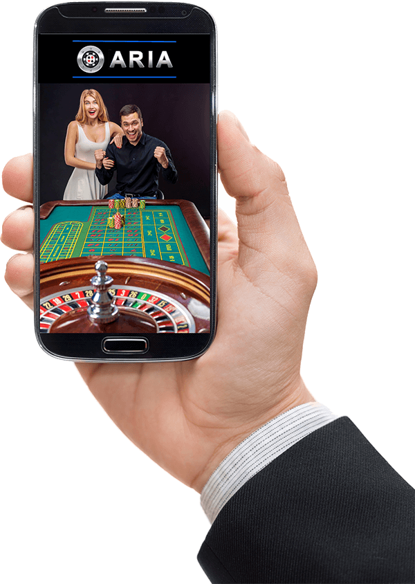 online casino software on a smartphone