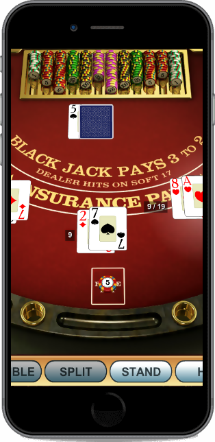 blackjack casino software